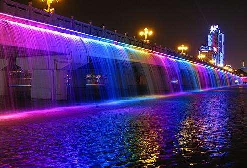 盤浦大橋月光噴泉