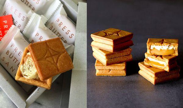 Press Butter Sand焦糖餅乾