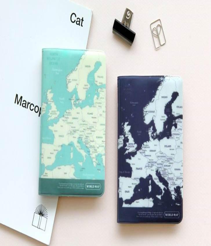 地圖護照套