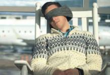 護脖眼罩枕