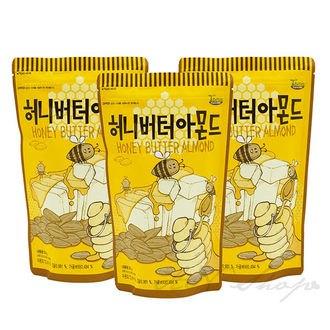 蜂蜜奶油杏仁果 Honey Butter