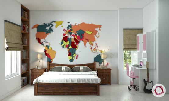紀錄旅程—世界地圖裝潢居家