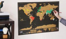 刮刮樂世界地圖篇-刮出自己專屬的世界吧