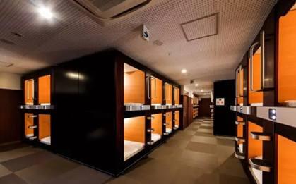 京都膠囊旅館