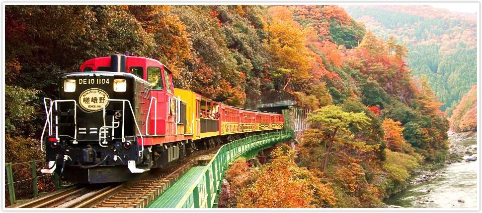 嵯峨野觀光小火車トロッコ列車