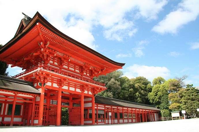下鴨神社(賀茂御祖神社) Kamomioya Jinja