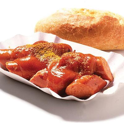 柏林路邊小吃—咖喱腸