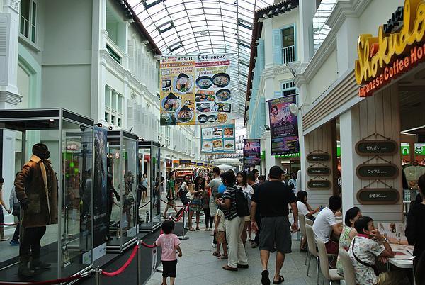 武吉士購物區