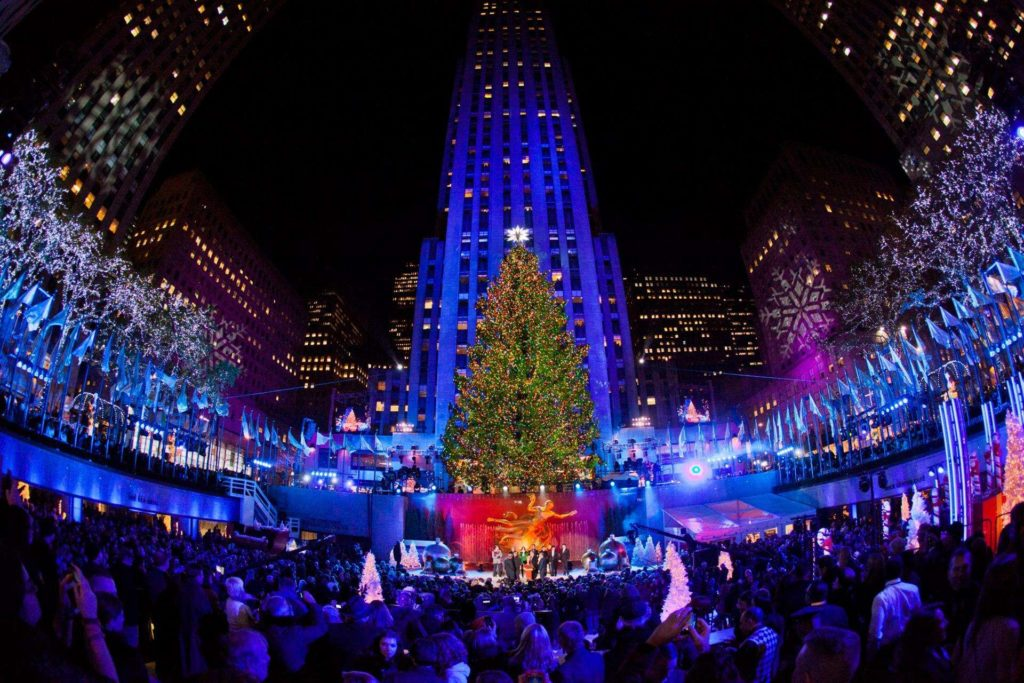 克菲勒聖誕樹點燈儀式
