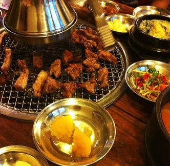 姜虎東白丁烤肉