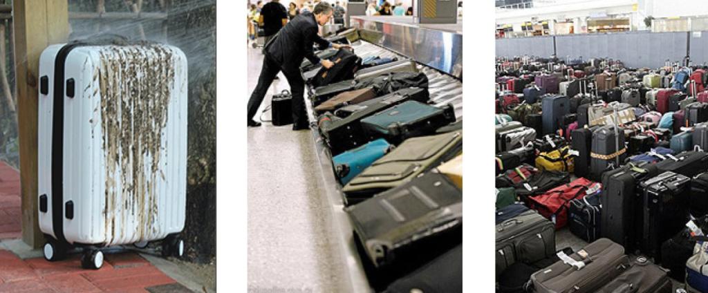 行李箱套不好