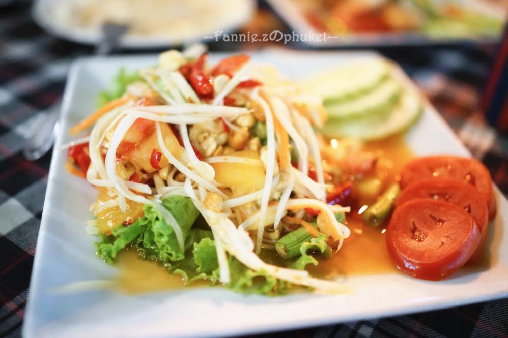 青木瓜沙拉ส้มตำ