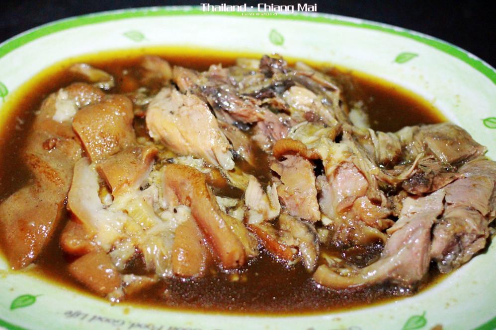 豬腳飯ข้าวขาหมู