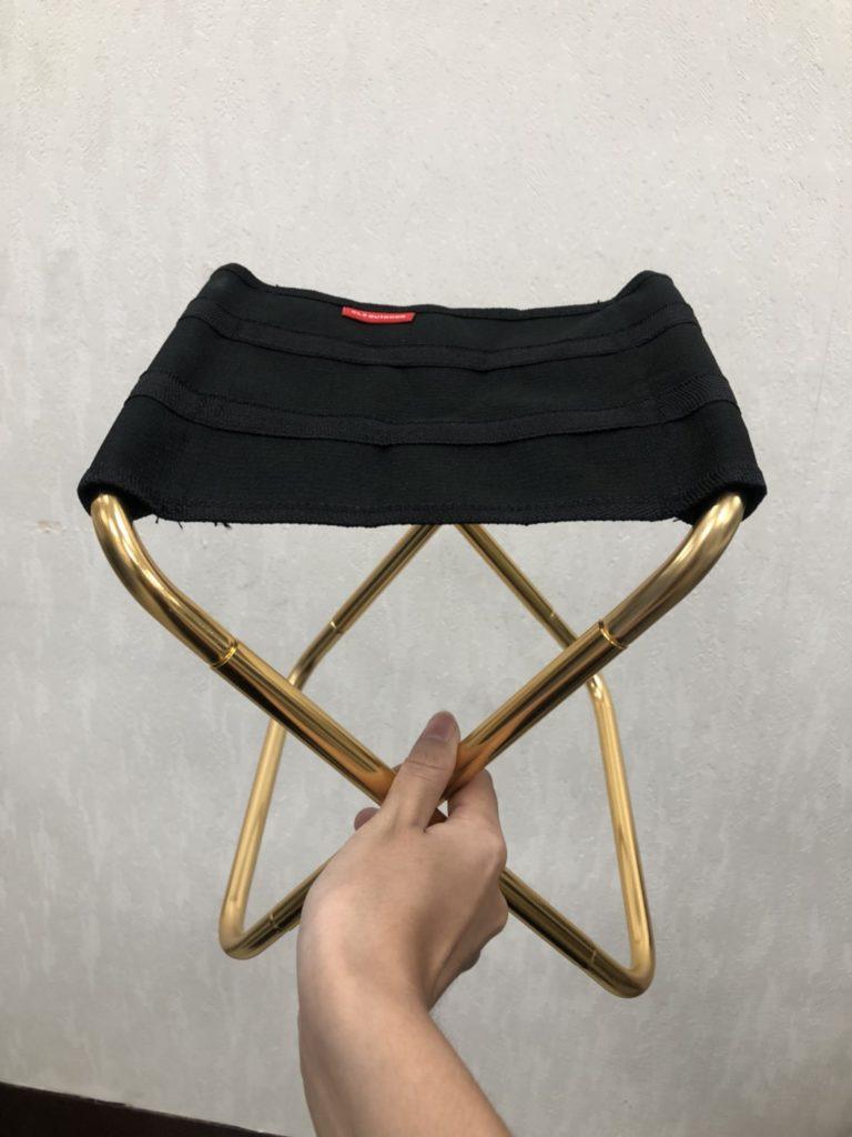 【Camping】超迷你便攜鋁合金戶外折疊椅