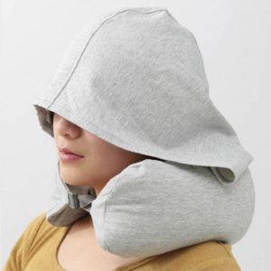 無印風連帽U型枕