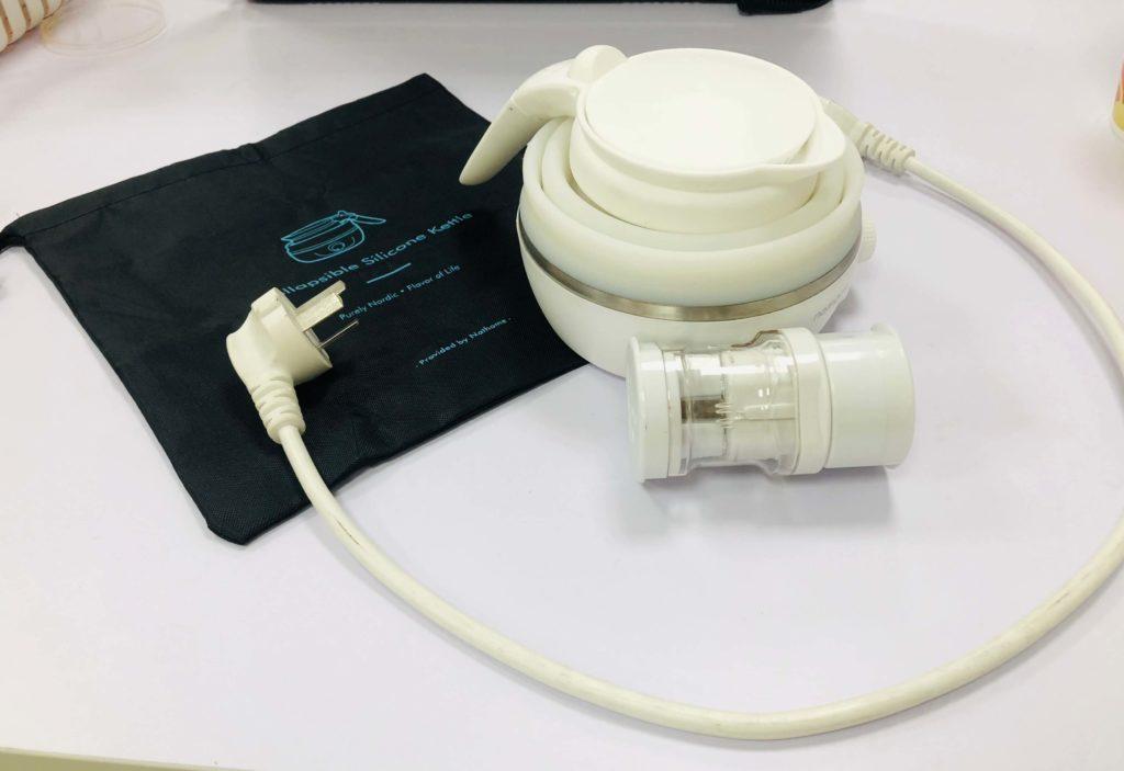 旅行折疊電熱水壺