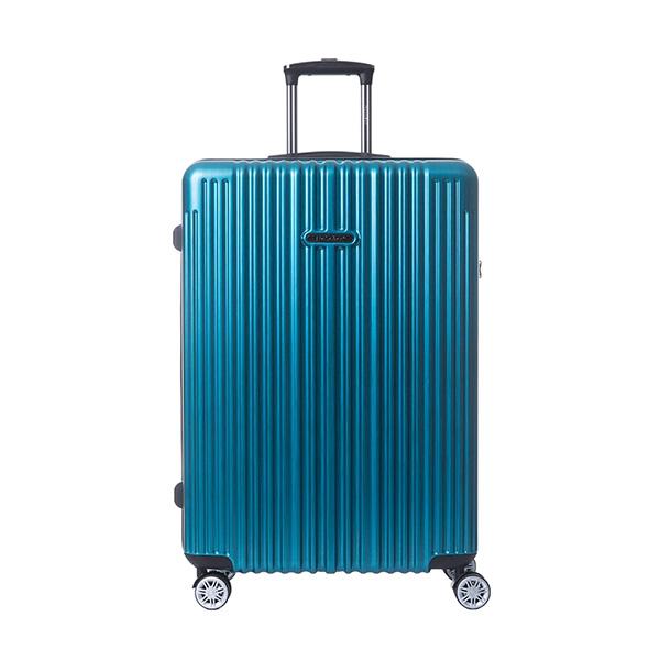 【NaSaDen納莎登】22吋新無憂髮絲紋行李箱|防刮拉鍊箱