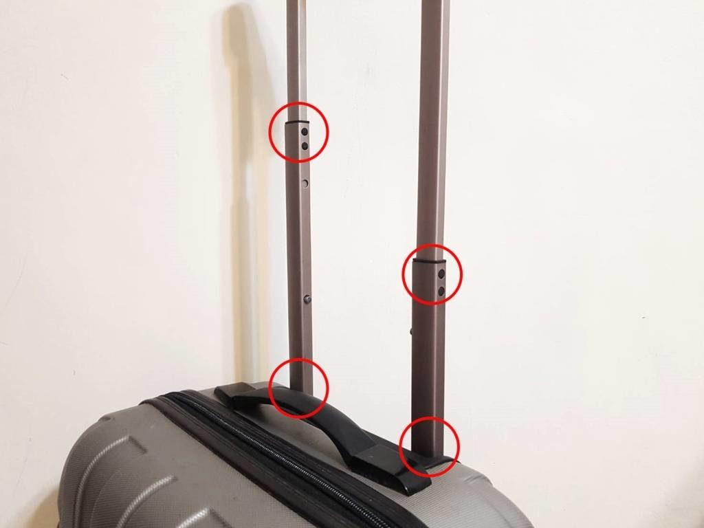使用除鏽潤滑油滴入各節點潤滑。