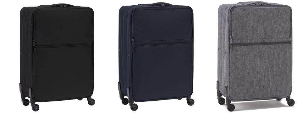 無印良品可折疊軟殼行李箱