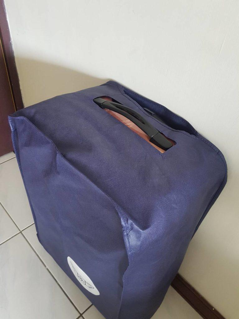 古老行李箱套