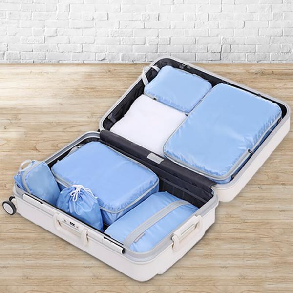 『HOW強』衣服收納壓縮袋六件組
