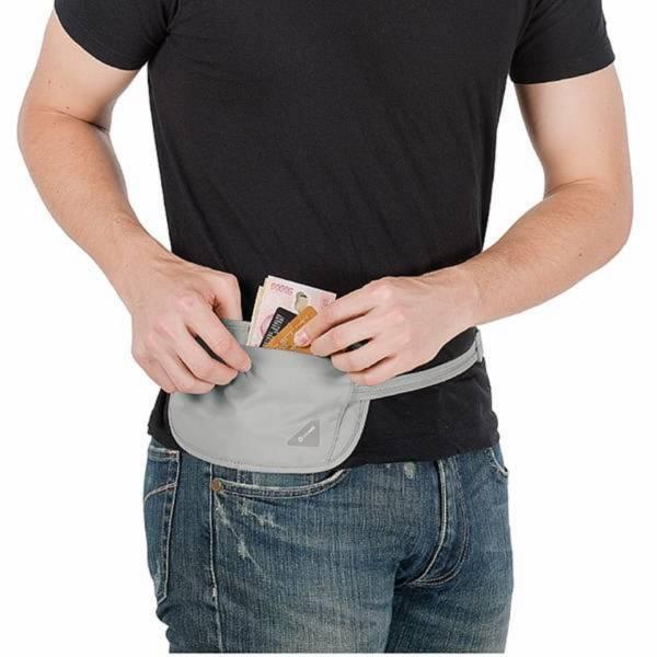 隱形防盜腰包