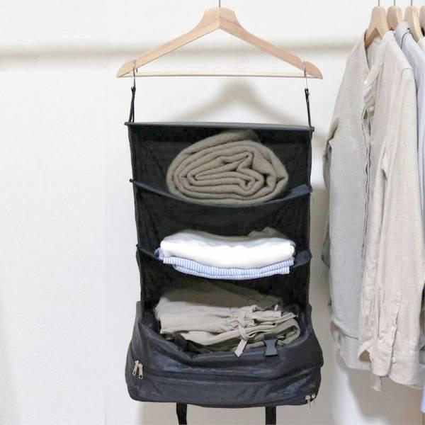 旅行移動衣櫃收納袋