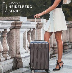登機箱推薦-【NaSaDen納莎登】20吋鋁框海德堡行李箱
