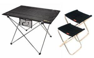 【韓國SELPA】露營超值組合【加大摺疊桌+2入摺疊椅】