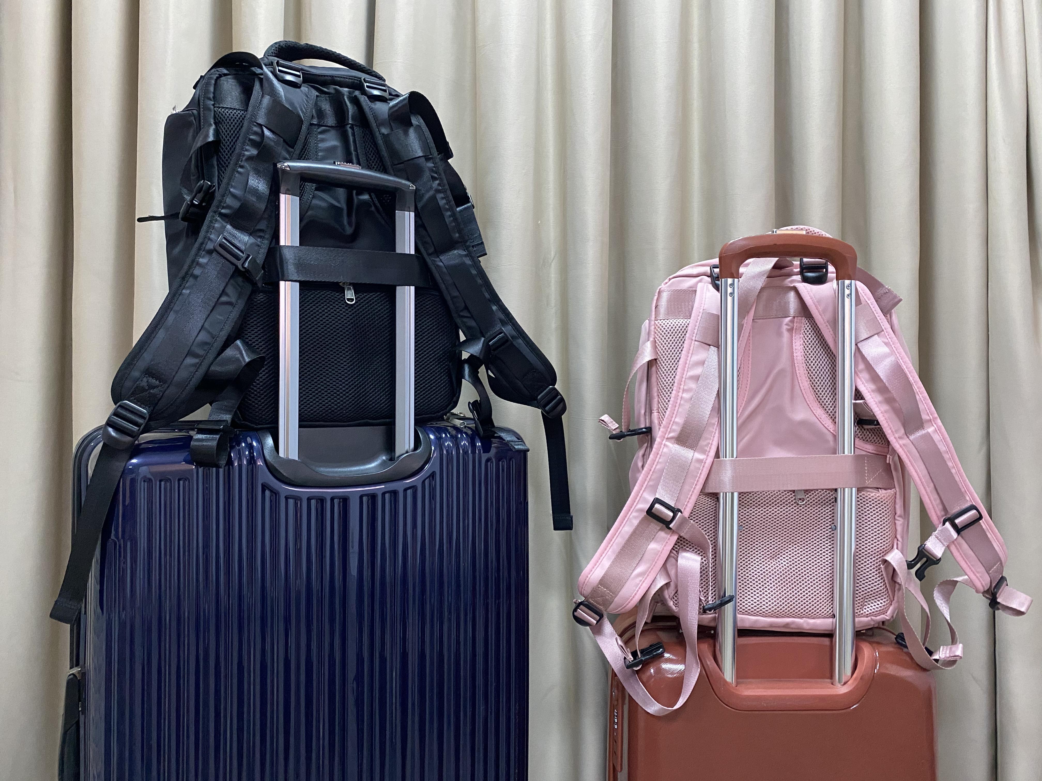 行李箱固定帶設計