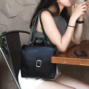 森系mini包|簡約輕手工後背包